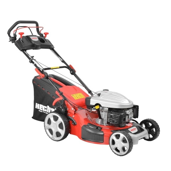 HECHT 5534 SX 5 IN 1 - PETROL LAWN MOWER WITH SELF PROPELLED SYSTEM