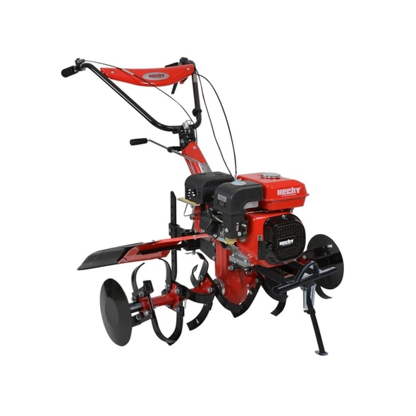 HECHT 7100 - PETROL TILLER WITH SELF PROPELLED SYSTEM