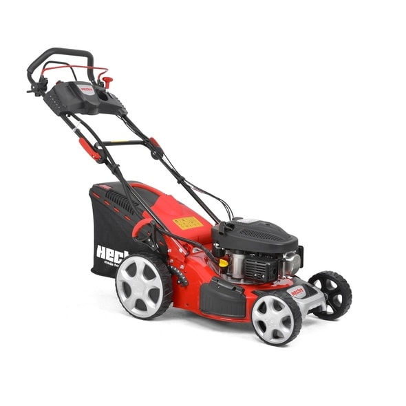 HECHT 543 SWE - PETROL LAWN MOWER WITH SELF PROPELLED SYSTEM