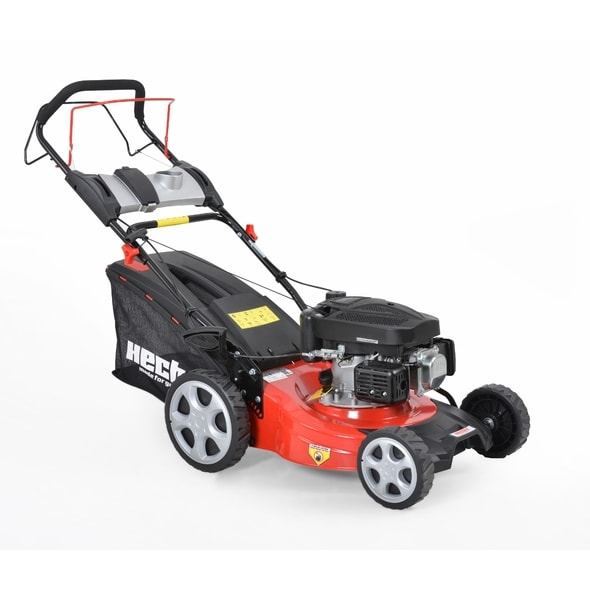HECHT 543 SX - PETROL LAWN MOWER WITH SELF PROPELLED SYSTEM