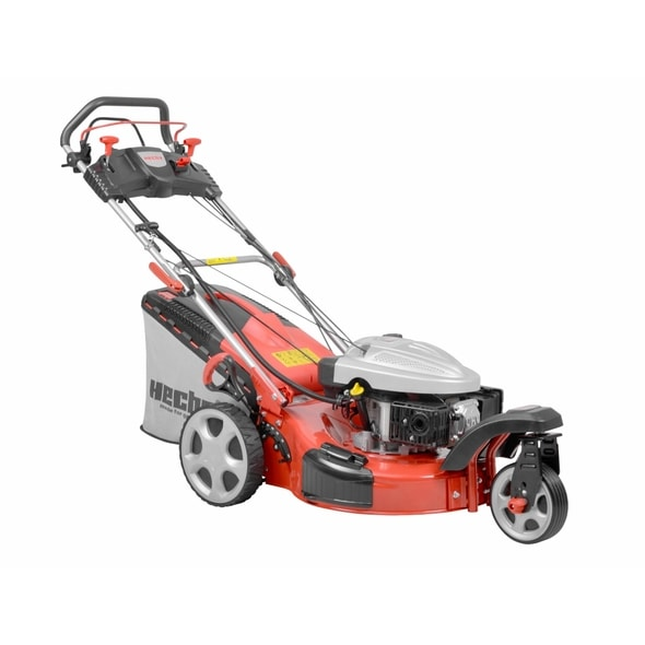 HECHT 5543 SXE - PETROL LAWN MOWER WITH SELF PROPELLED SYSTEM