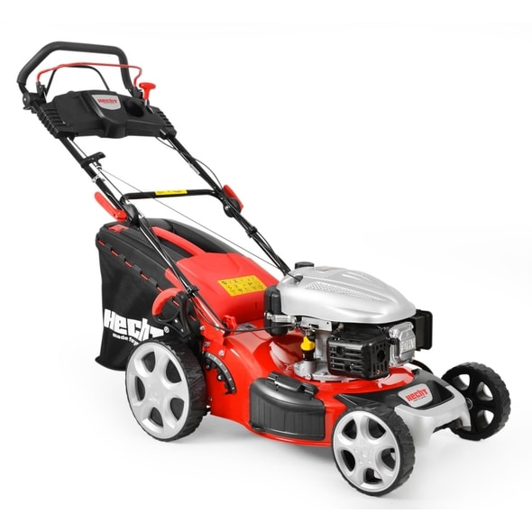 HECHT 548 SW 5 IN 1 - PETROL LAWN MOWER WITH SELF PROPELLED SYSTEM