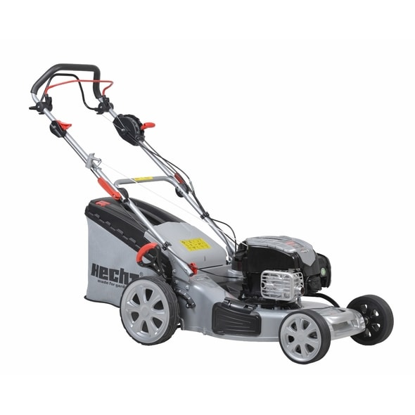 HECHT 553 BSA 5 IN 1 - PETROL LAWN MOWER WITH SELF PROPELLED SYSTEM