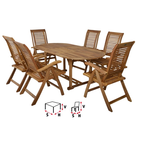 HECHT CAMBERET SET - GARDEN FURNITURE SET