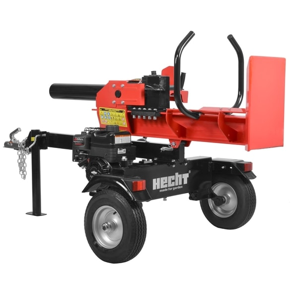 HECHT 6422 - 22 TON PETROL LOG SPLITTER