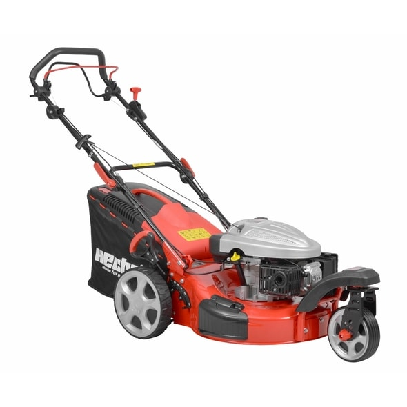 HECHT 5533 SW 5 IN 1 - PETROL LAWN MOWER WITH SELF PROPELLED SYSTEM