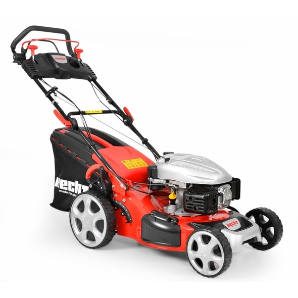 HECHT 5484 SX 5 IN 1 - PETROL LAWN MOWER WITH SELF PROPELLED SYSTEM