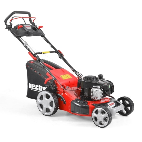 HECHT 5494 SB 5 IN 1 - PETROL LAWN MOWER WITH SELF PROPELLED SYSTEM