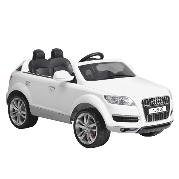 AUDI Q AU White Accumulator Vehicles Children Toys HECHT - Audi q7