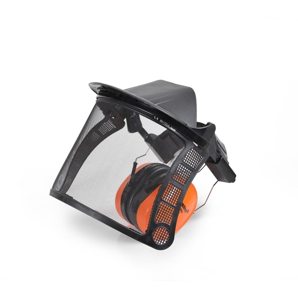 HECHT 900105 - FACE SHIELD WITH EAR PROTECTION